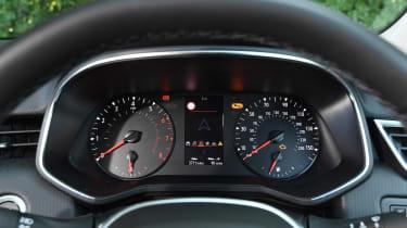 Renault Clio Long termer - dials