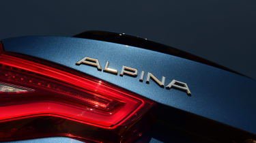 Alpina XD3 - rear badge