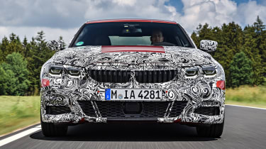 New BMW 3 Series pre-production review - front