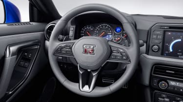 Nissan GT-R 50th Anniversary Edition - studio steering wheel