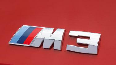 BMW M3 badge