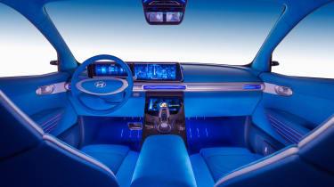Hyundai FE Fuel Cell Concept - interior 2