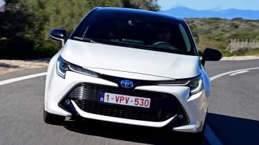 Toyota Corolla - full front