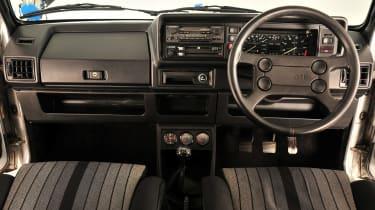 Volkswagen Golf GTI Mk1 - interior