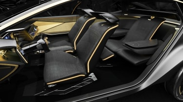 Nissan IM concept - seating