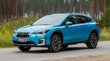 Subaru XV - side