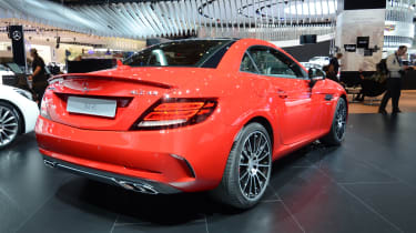 Mercedes SLC43 - rear quarter show