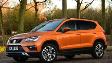 SEAT Ateca - front static