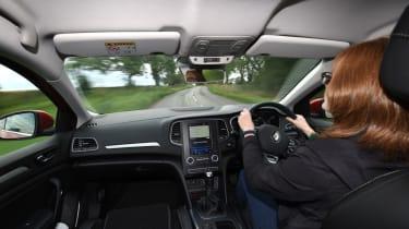 Renault Megane long term test - cockpit