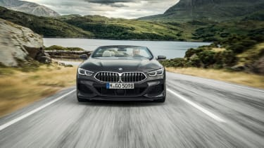 BMW 8 Series Convertible - full front action