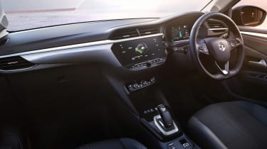 New Vauxhall Corsa-e official 2019 interior