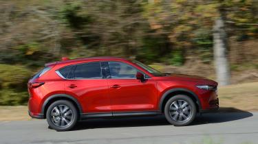 New Mazda CX-5 - side