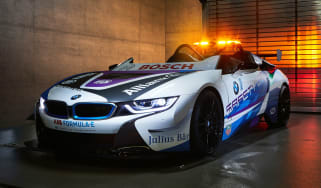 BMW i8 Roadster Formula E safety car - front