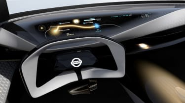 Nissan IMQ concept - steering wheel