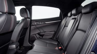 New Honda Civic Sport Line rear seats