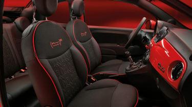 Fiat (500)RED - interior