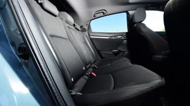 Honda Civic - back seats