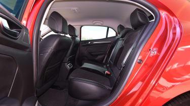Renault Megane diesel - back seats