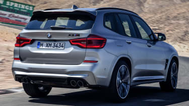 BMW X3M - rear tracking