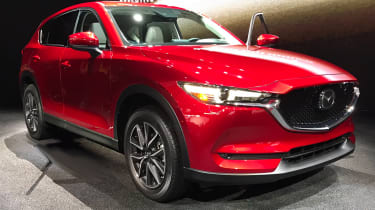 Mazda CX-5 2016 - LA show front quarter