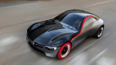 Vauxhall GT Concept - front tracking 2