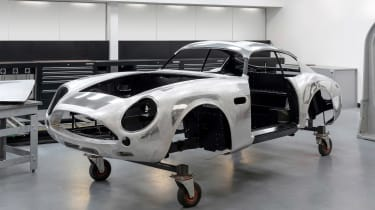 Aston Martin DB4 Zagato production - front