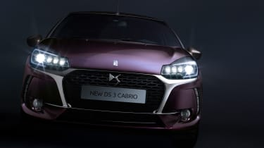 DS 3 Cabrio - front