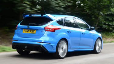 Ford Focus RS - rear