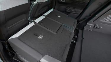 Citroen C3 Aircross facelift - seats down