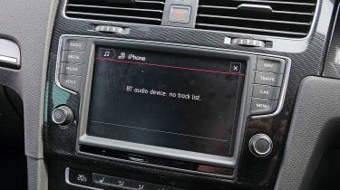 VW Golf GTI screen