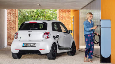 Smart EQ ForFour - rear charging