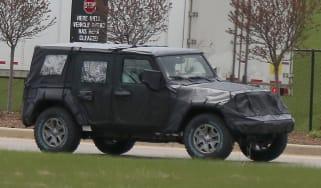 Jeep Wrangler 2017 spy shot 1