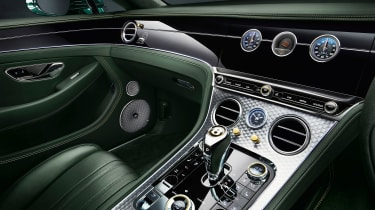 Bentley Continental GT Number 9 Edition by Mulliner - dash