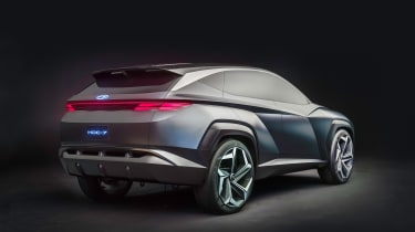 Hyundai Vision T - rear 3/4 static
