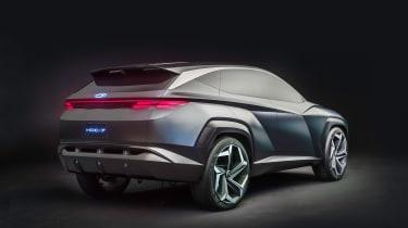 Hyundai Vision T - rear 3/4 static