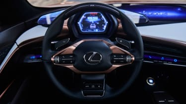 Lexus LF-1 Limitless - steering wheel