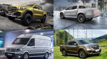 Best new vans and pick-ups 2017 - header
