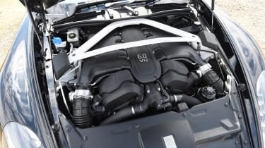 Aston Martin Vanquish S Volante - engine