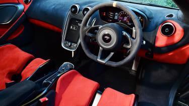 McLaren 600LT - dash