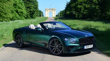 Bentley Continental GT Convertible - front static