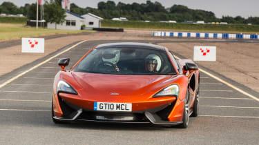 McLaren 570GT long term second report - full front
