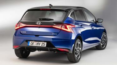 Hyundai i20 - rear static