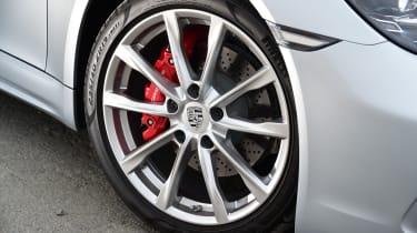 New Porsche 718 Boxster 2016 - wheel