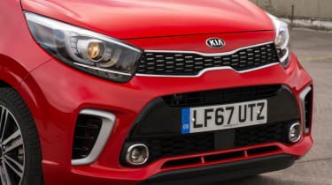 Triple test –Kia Picanto - grille