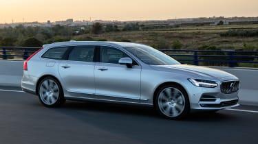 Volvo V90 estate 2016 - side tracking