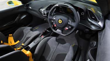 Ferrari 488 Pista - cabin