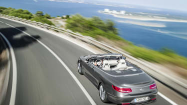 Mercedes S-Class Cabriolet 13