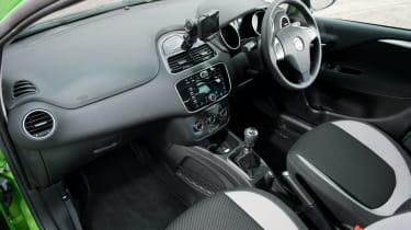 Fiat Punto TwinAir interior