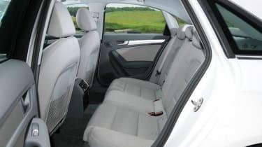 Audi A4 TDIe rear seats