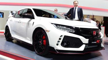 Honda Civic Type R - Jonathan Burn's  Geneva Motor Show star